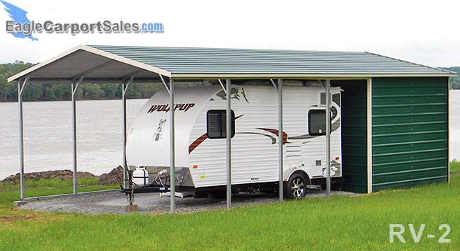 Rv Carports Metal Rv Covers Eagle Carports Metal